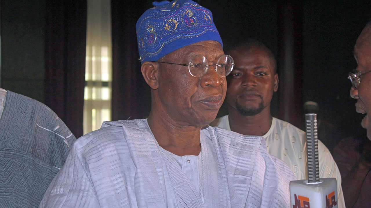 News of Buhari's trip to U.S. fake – Lai Mohammed
