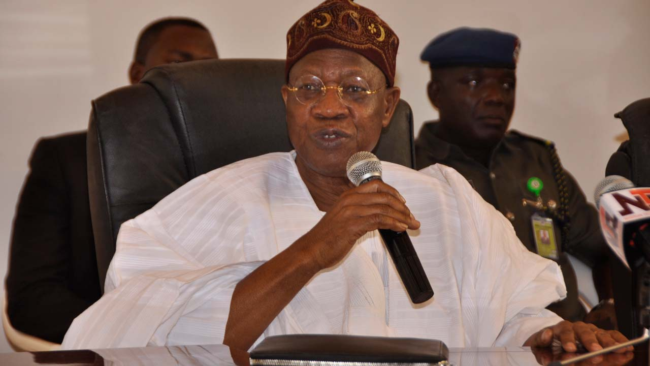 Lai Mohammed, Kwara PDP differ over ban on rallies as 25 political parties sign peace accord