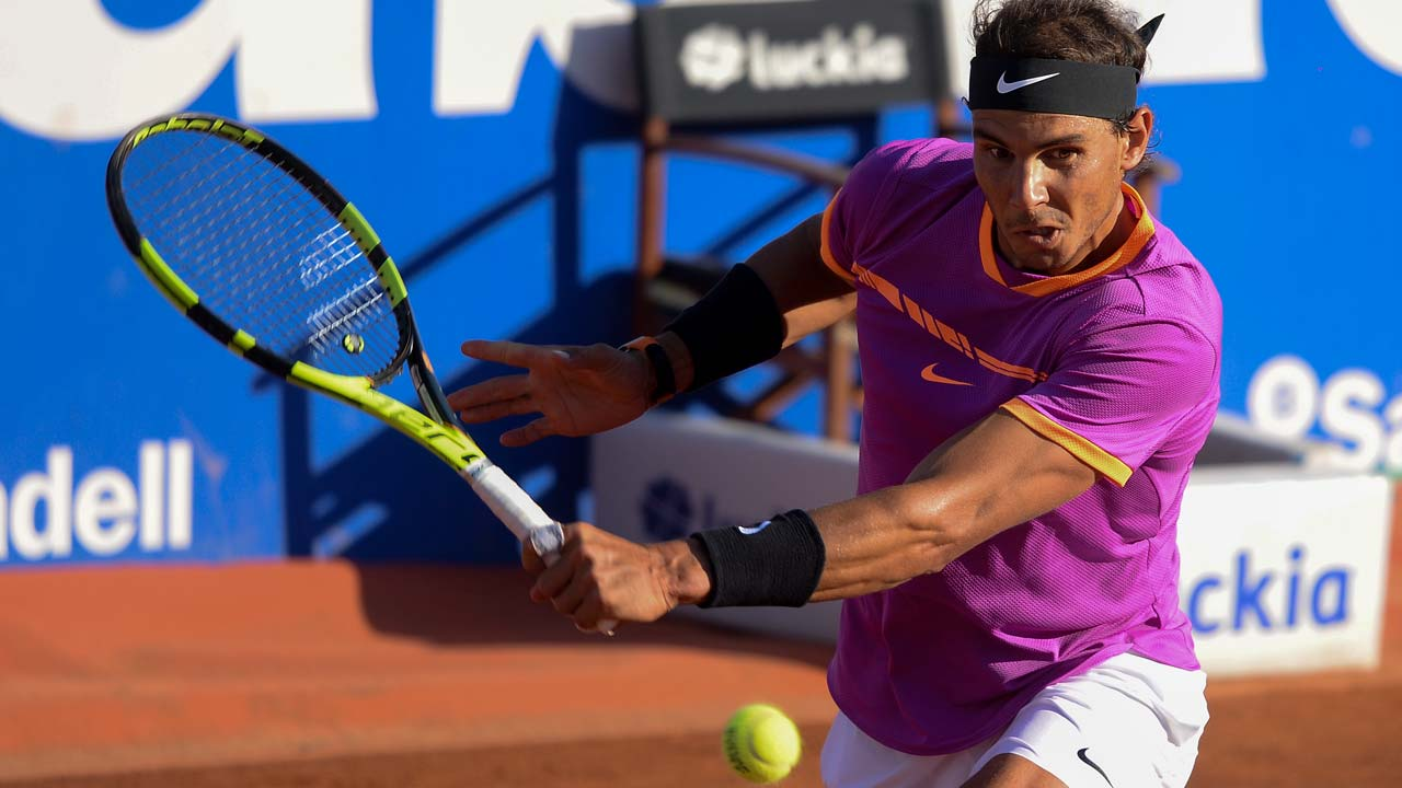 Sizzling Nadal in Barcelona final