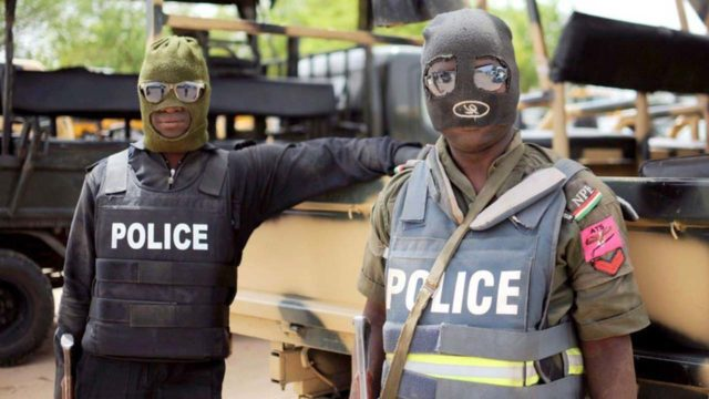Policemen sack Delta community, raze houses over colleague's death