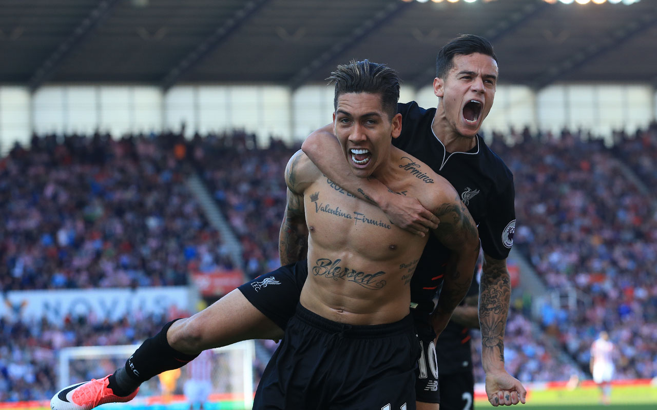 Coutinho, Firmino Ride To Liverpool's Rescue