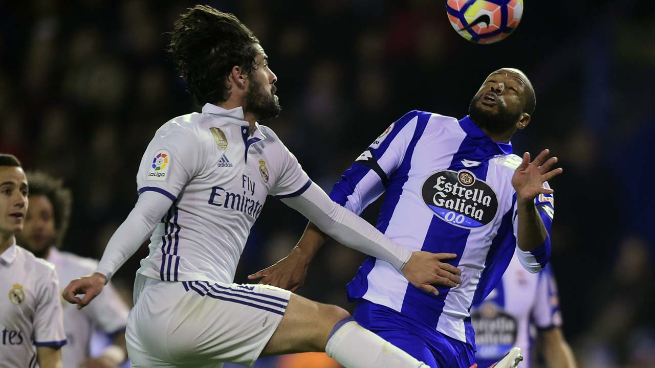 Deportivo La Coruna vs Real Madrid, La Liga 2016/17