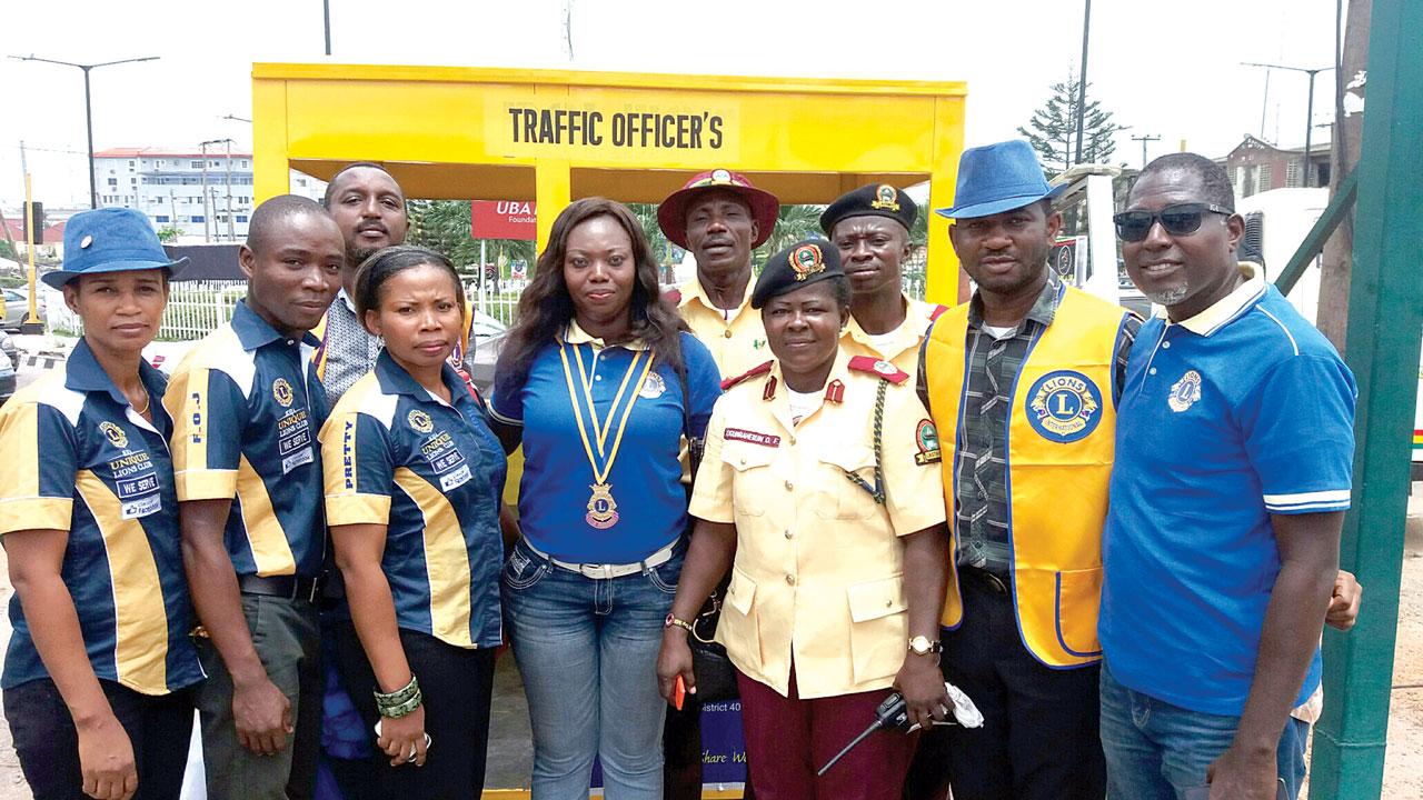 Ikeja Lions Club donates to orphanage