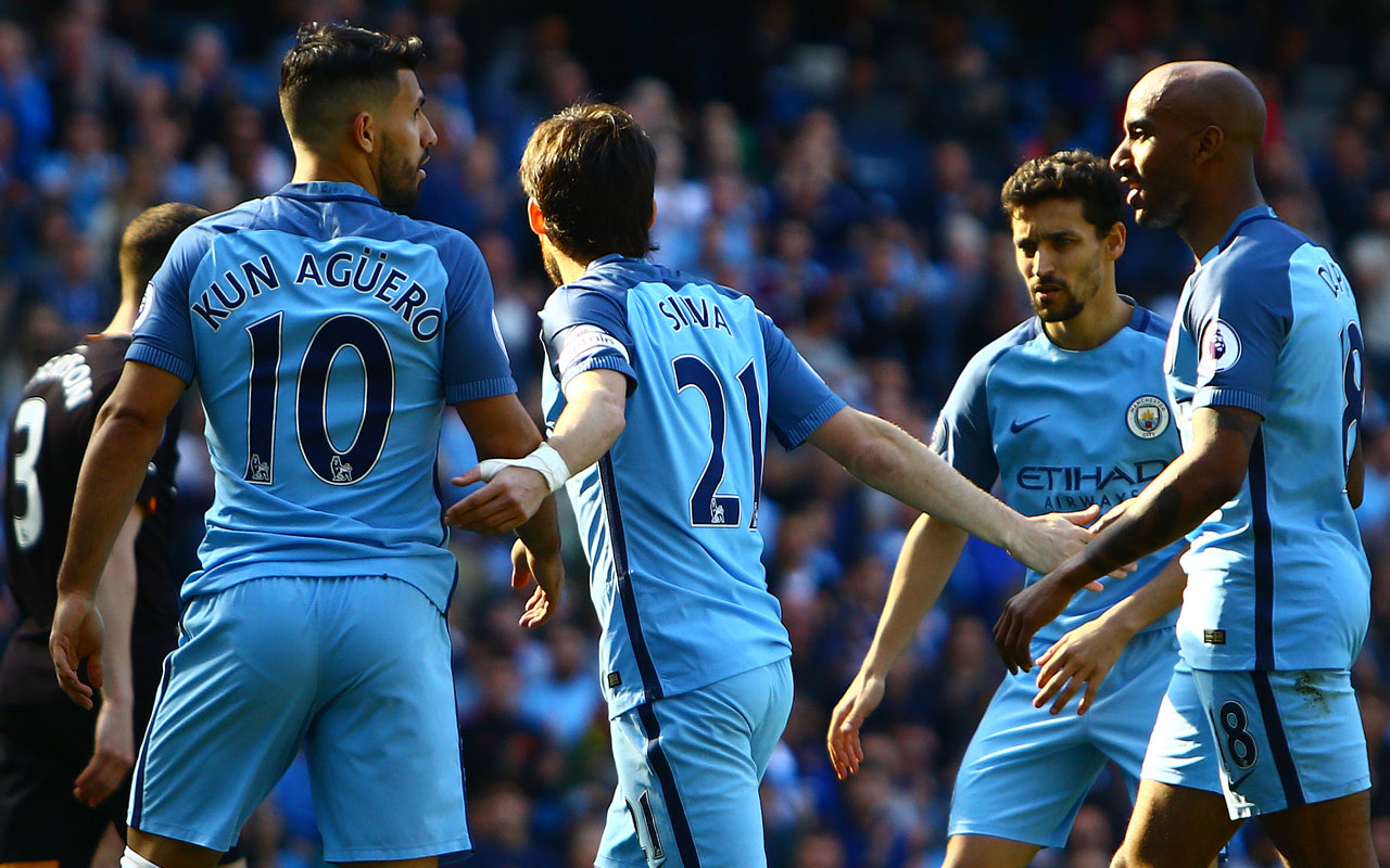 Manchester City held to a 2-2 draw by Middlesbrough