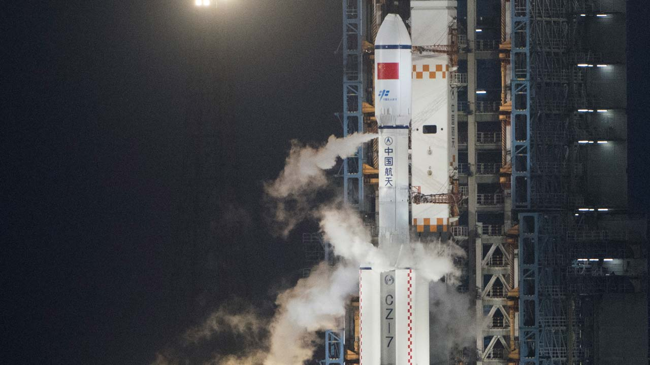 China launches first unmanned spacecraft