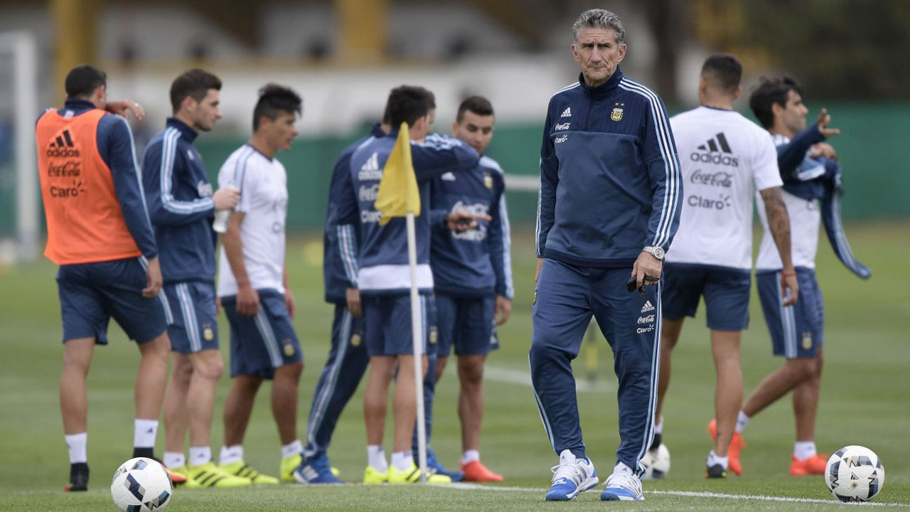 South American giants Argentina sack head coach Edgardo Bauza