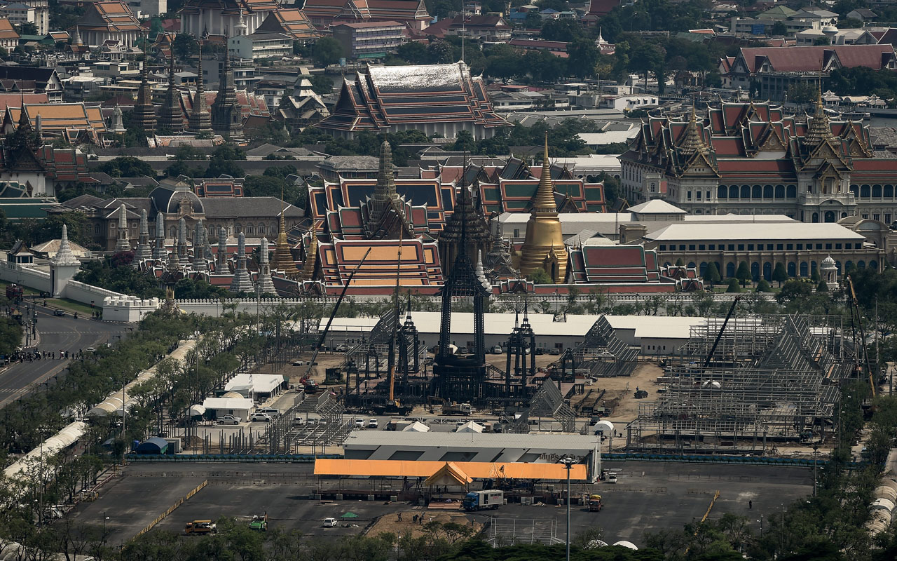 Cremation of Thailand's late king to be held on Oct. 26
