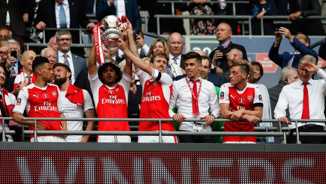 Image result for Arsenal win FA Cup for a 13th record time