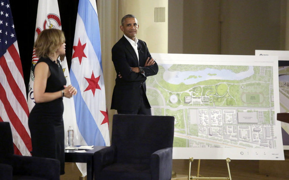 President Obama's Presidential Center Will Feature A Recording Studio