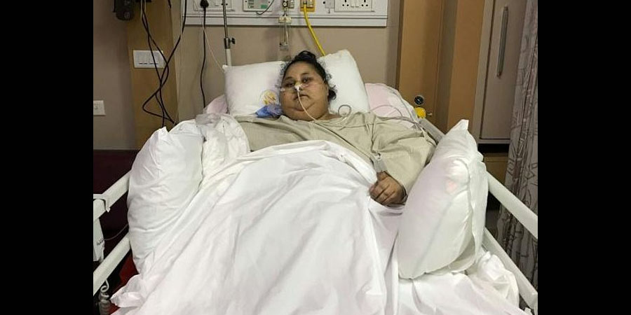 'World's heaviest woman' leaves Indian hospital after ...
