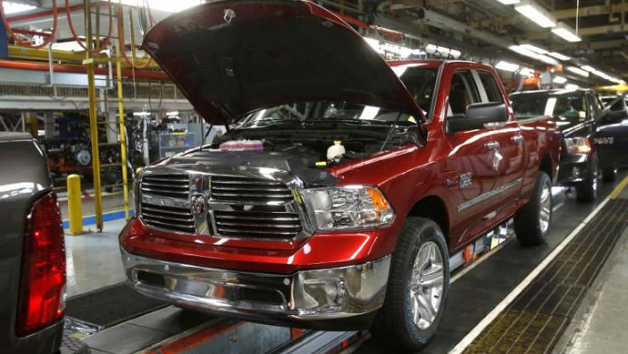 Fiat Chrysler Recalls More Than 1 Mn Pickups In Us Technology Pickup Truck 2017 Photo Reuters