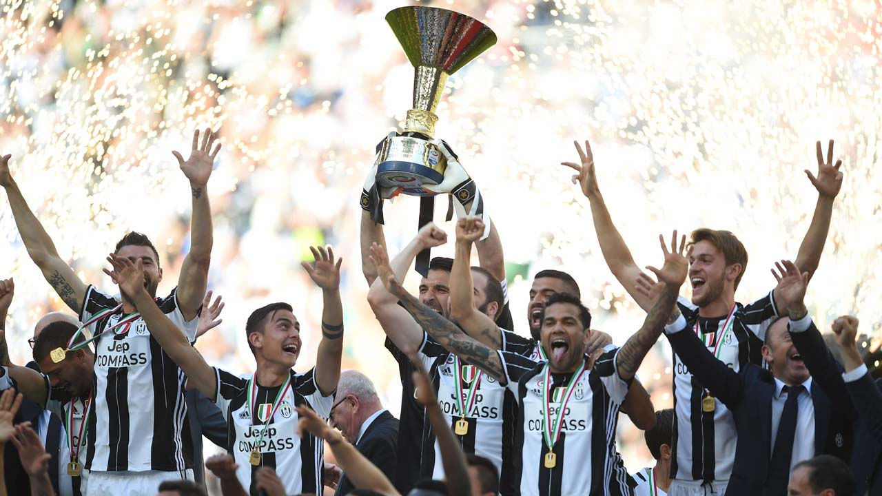 Juventus win record sixth consecutive Serie A title | The