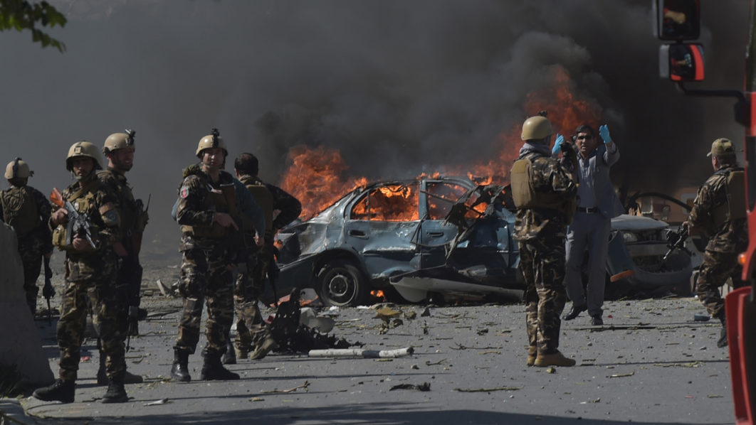 Image result for Massive Kabul truck bomb kills 80, wounds hundreds,