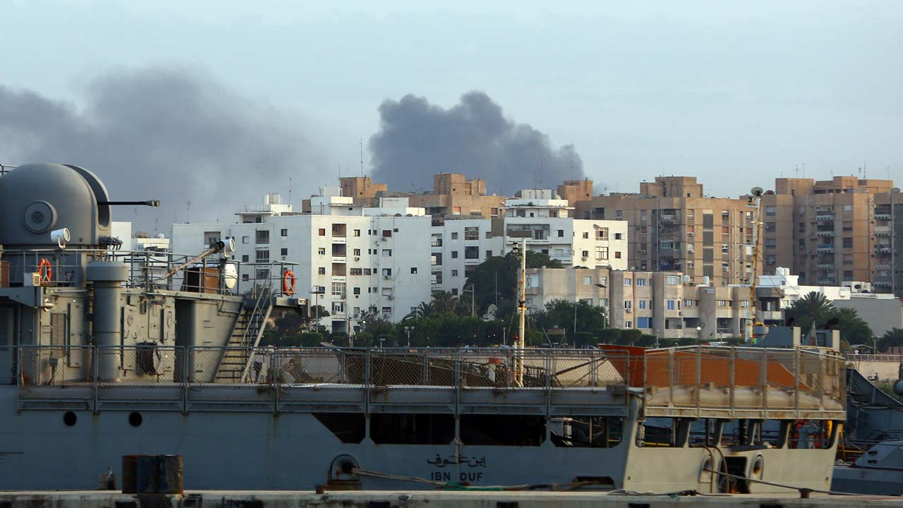 At least 5 dead as militias clash in Libya capital