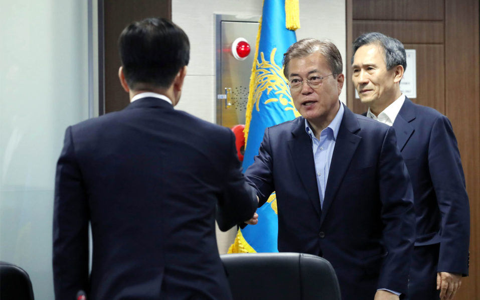 Chinese, S. Korean officials meet in attempt to repair ties