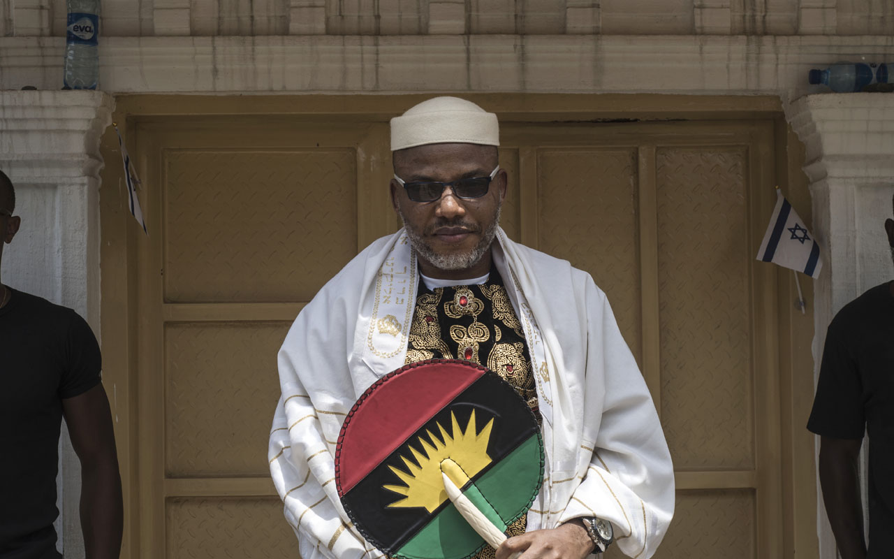 BIAFRA: Nnamdi Kanu claims to take IPOB to Abuja on the 17th of October