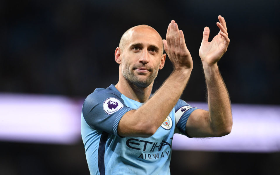 West Ham sign defender Pablo Zabaleta from Manchester City
