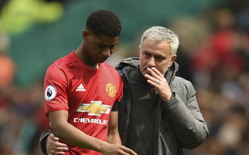 Europa League: Rashford gives Manchester United advantage