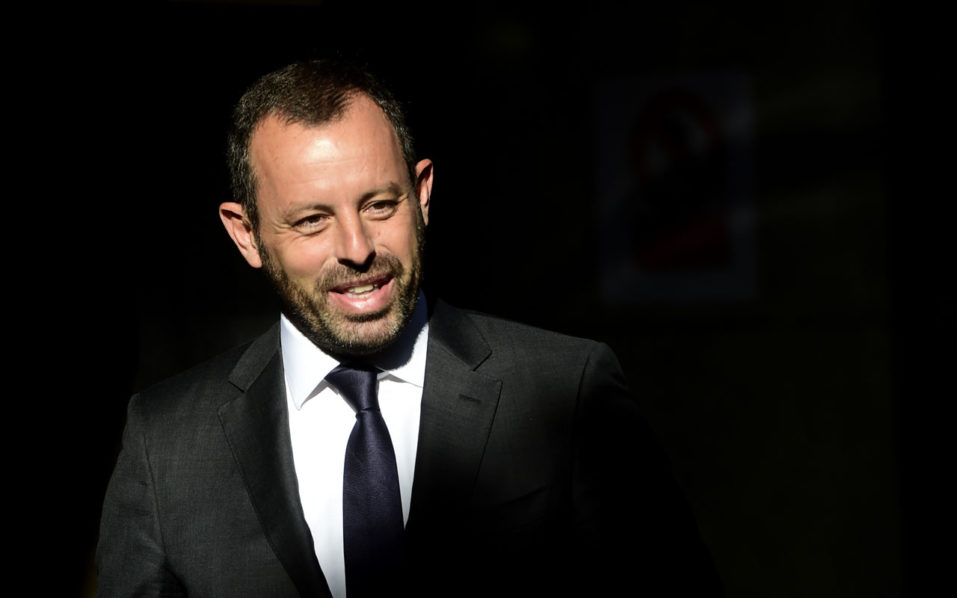 Spanish police arrest former Barcelona FC president in graft investigation
