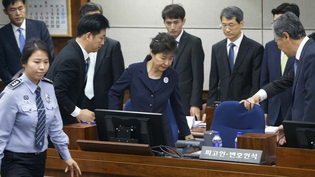 South Korea's Park will not appeal jail term
