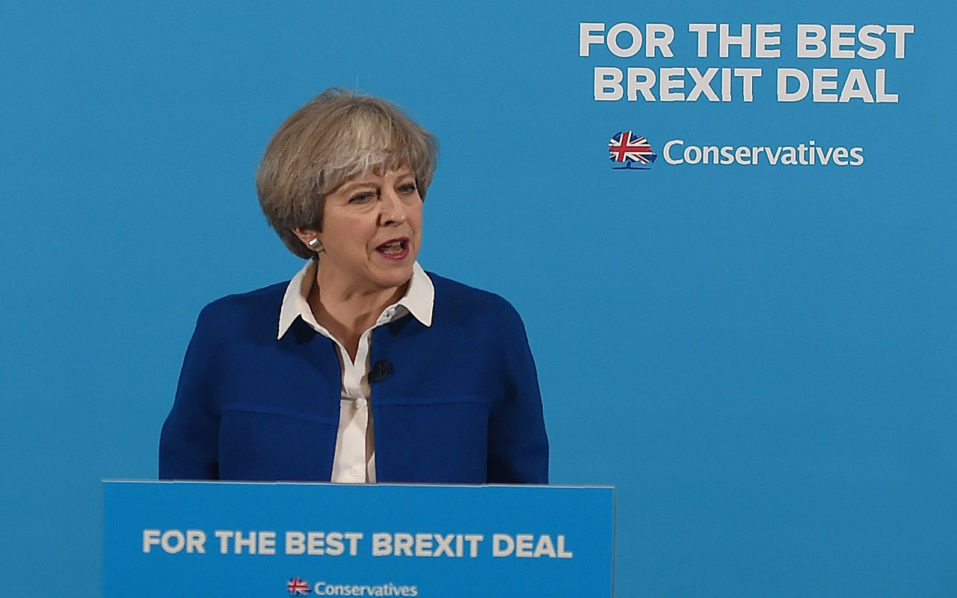 Lead of UK Conservatives holds, May now seen negatively-ComRes poll