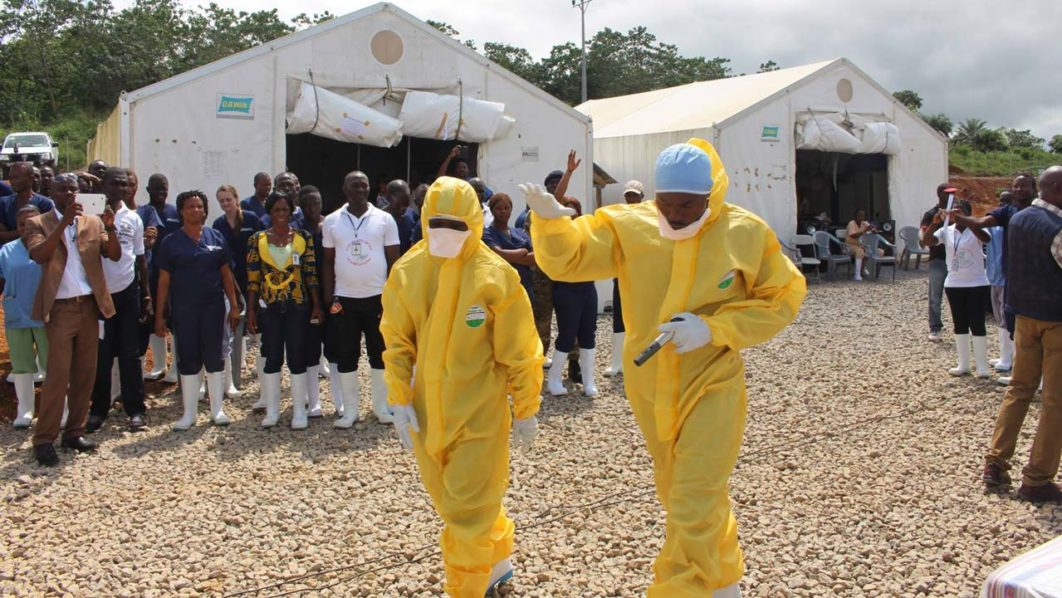 Risks for another Ebola outbreak remain high and for an even larger area study shows