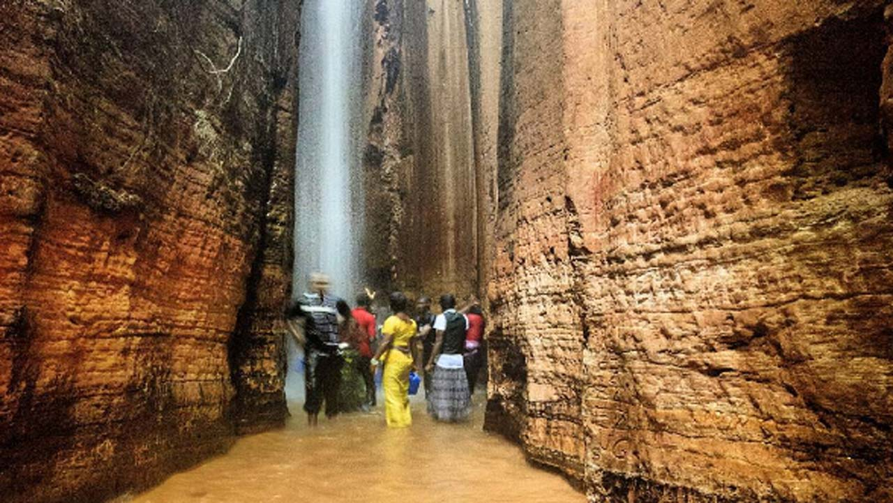 Destination Awhum Waterfall And Cave Saturday Magazine The Guardian Nigeria Newspaper