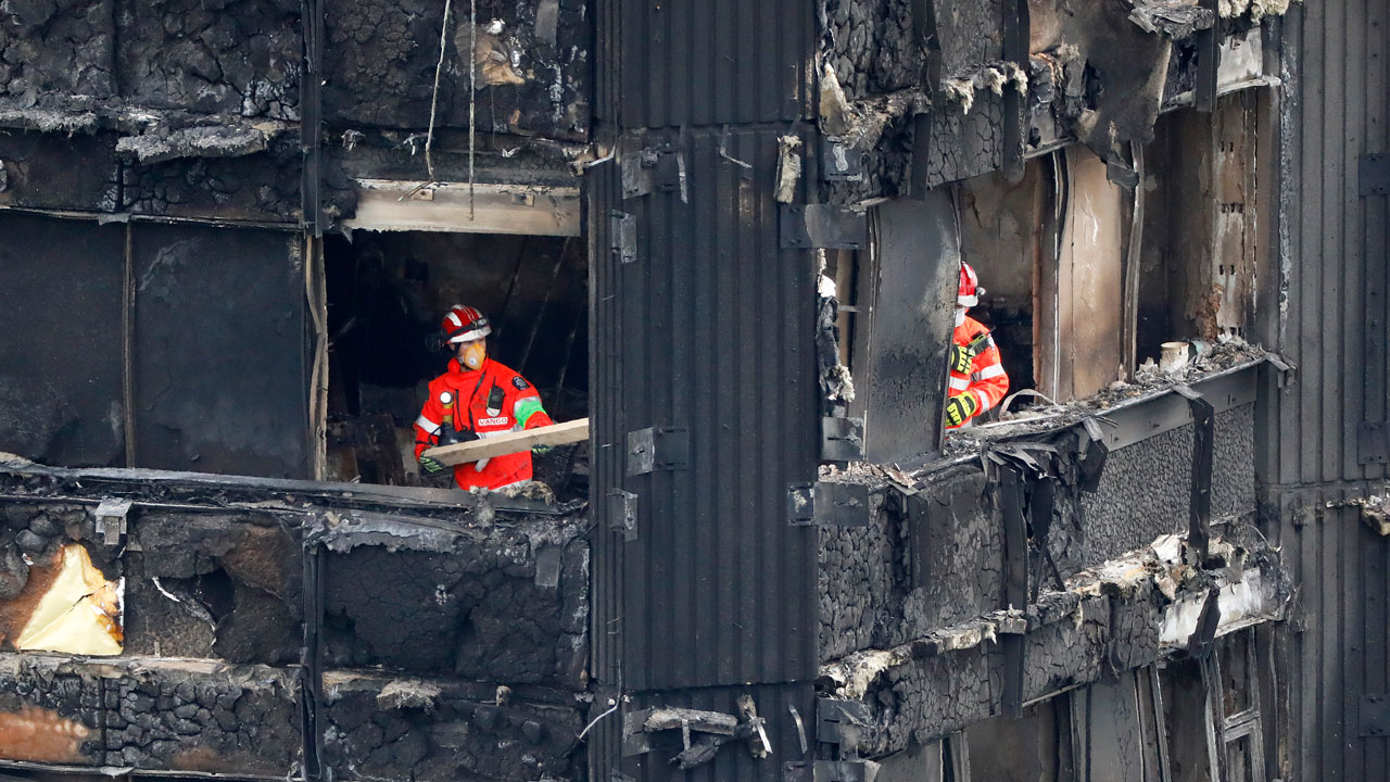 58 presumed dead in London tower block blaze