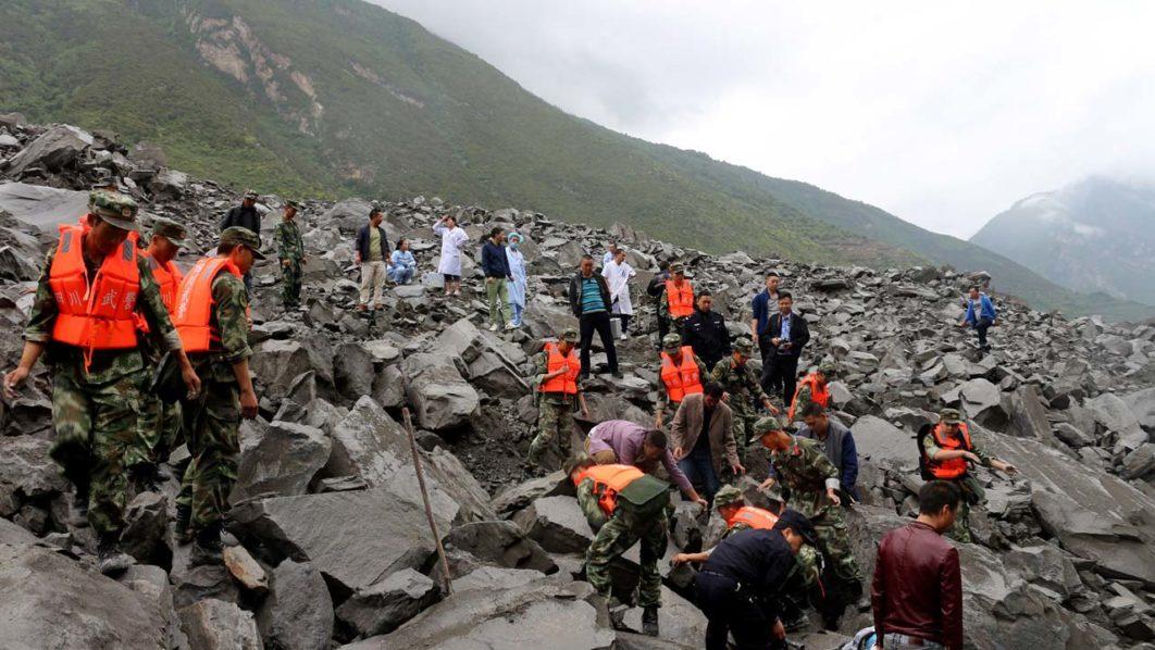 PM Nawaz expresses grief over loss of lives in China landslides