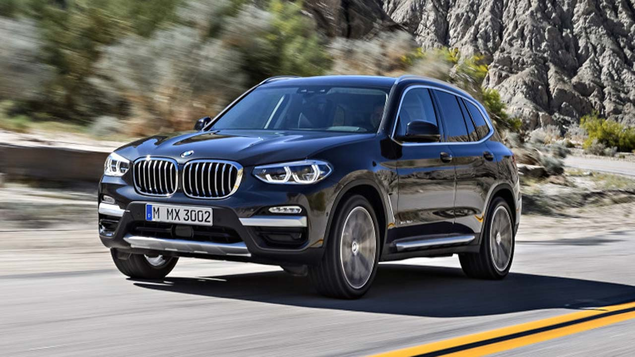 Bmw S All New X3 Mid Size Suv Debuts Features The