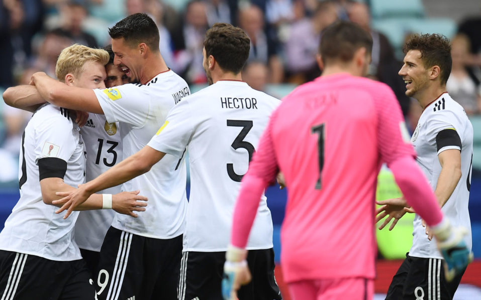 Heavyweights Germany, Chile clash at Confed Cup