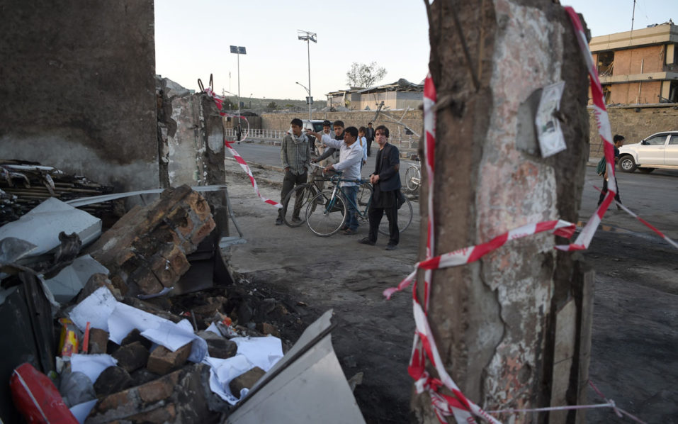 Explosion kills 80 near diplomatic area in Afghanistan