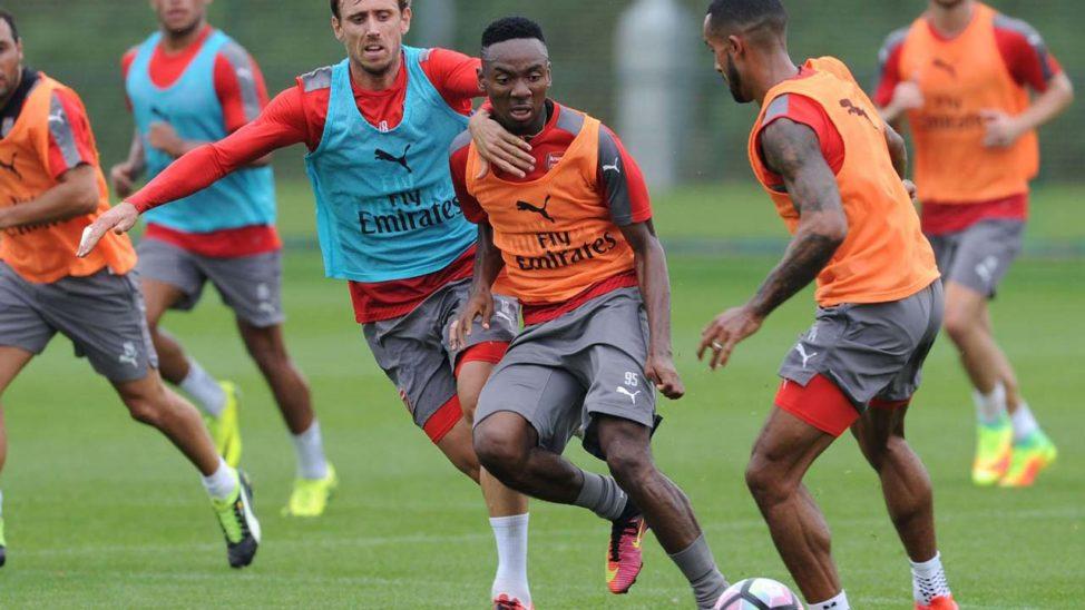 Nwakali set for first team battles at Arsenal