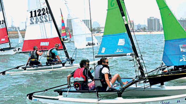 Hobie Cats, Lightnings, Tarpons win NBCBoat race championship