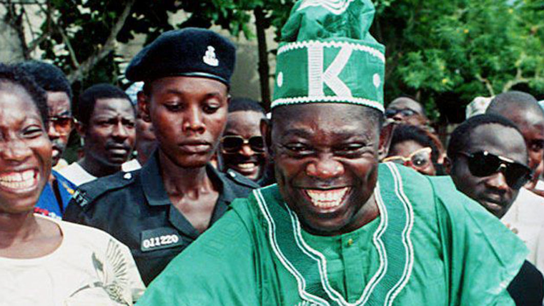 Image result for President Buhari declares June 12 as Democracy Day, honors MKO Abiola with GCFR