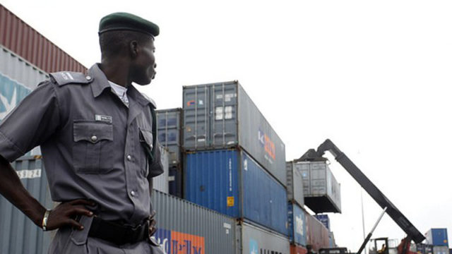 Clearing agents protest alleged extortion by customs in Lagos