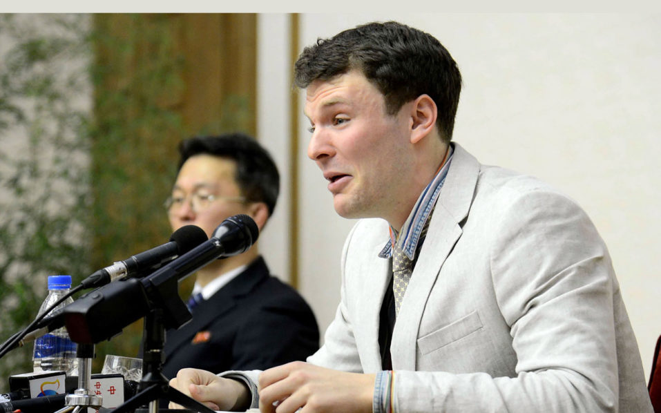 Jailed US student released in North Korea