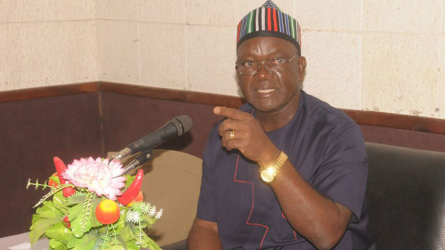APC has issued me red card, says Ortom