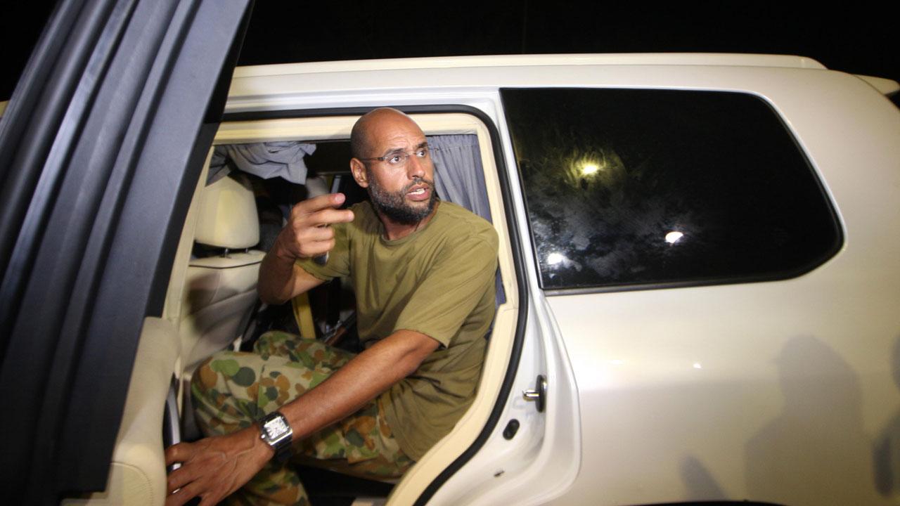 Kadhafi's son Seif 'set free' in Libya