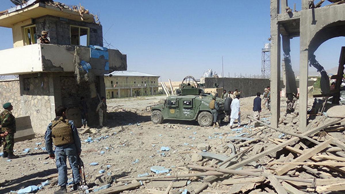 Taliban attack kills five Afghan police, injures 18