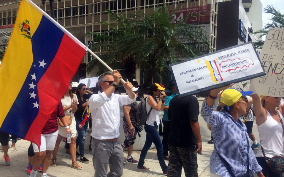 Goldman Sachs condemned for buoying Venezuela with $2.8bn bond purchase