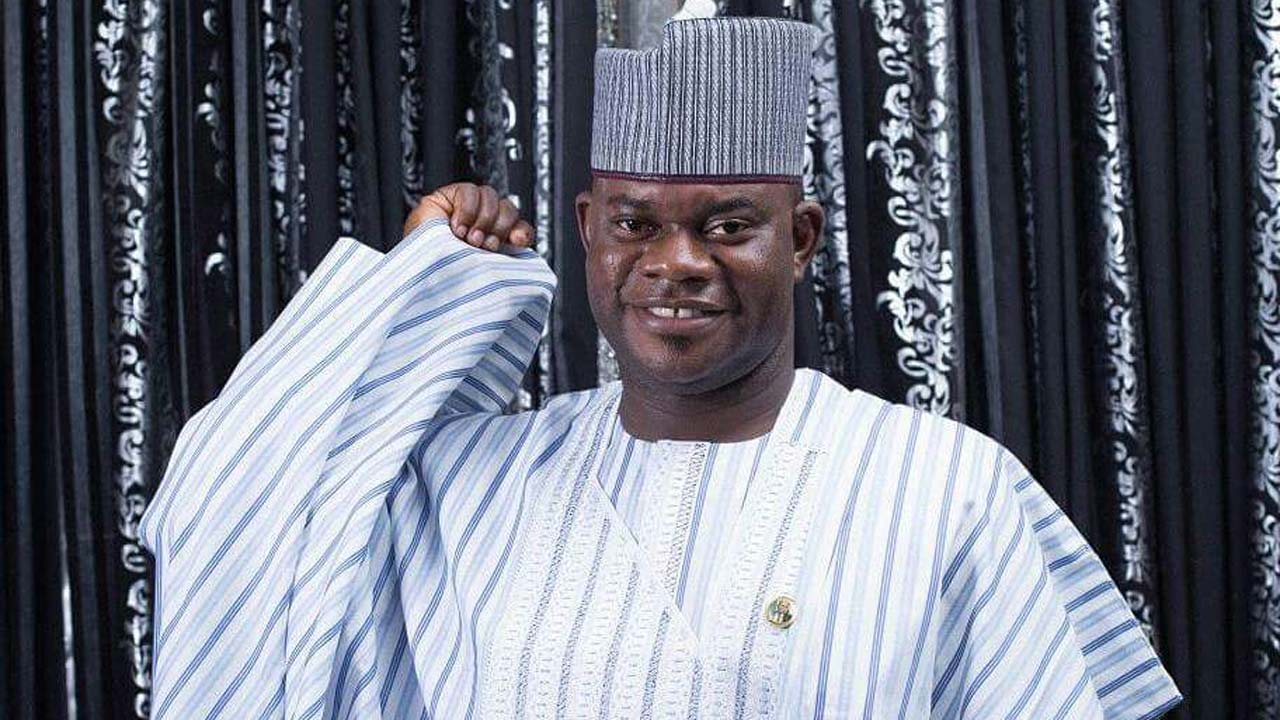 Governor, Kogi state, Yahaya Bello. Photo: Guardian Nigeria