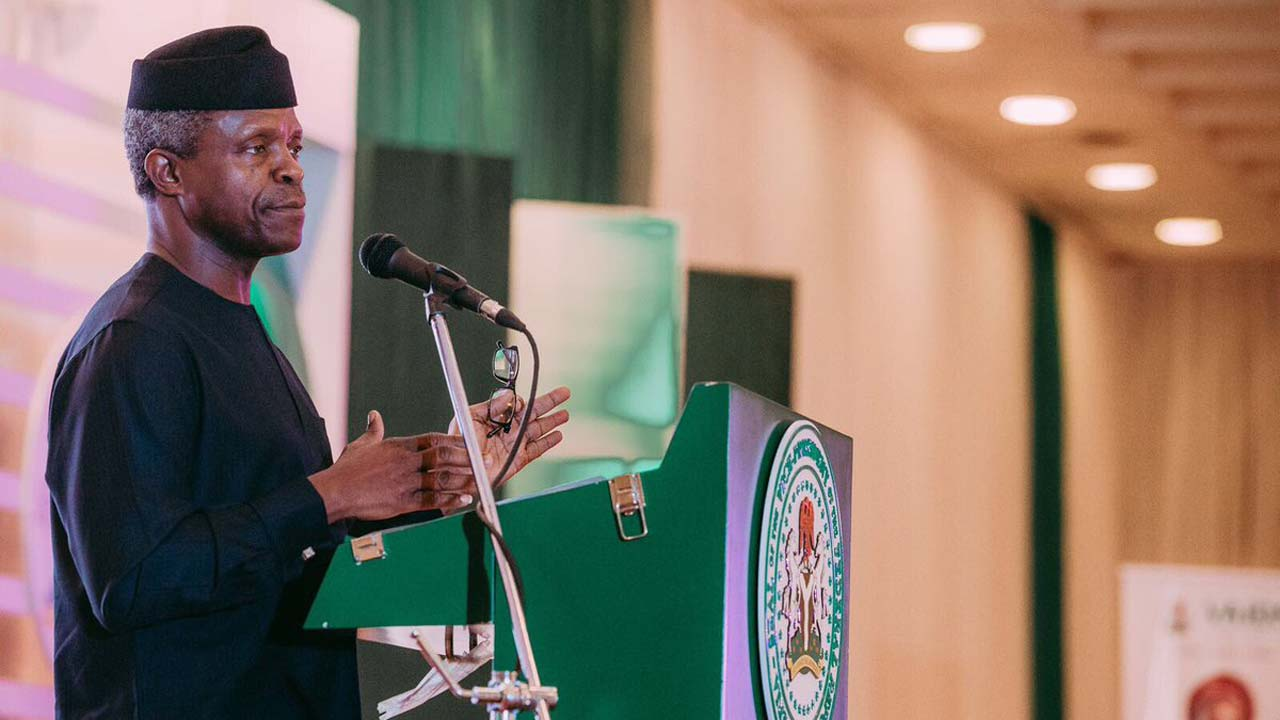 Osinbajo Receives Nigerian-Born Doctor Who Carried Out Successful Surgery on Foetus