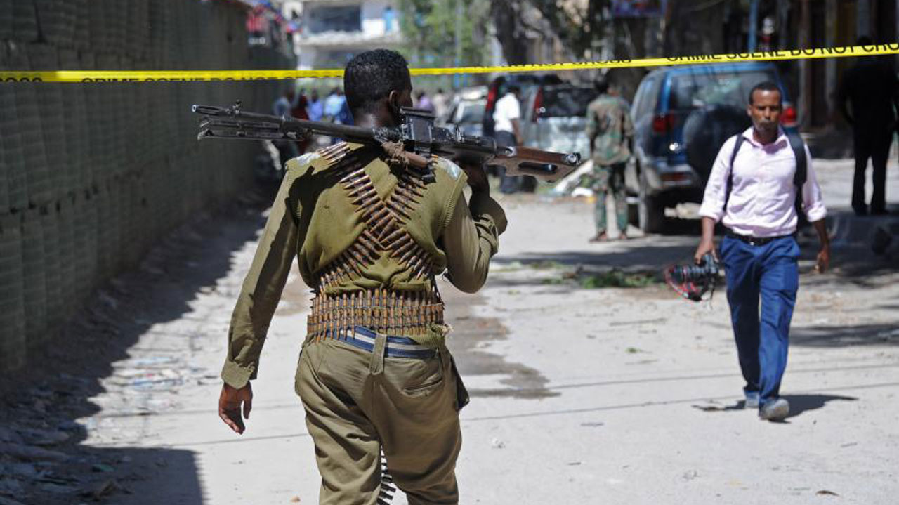 Car bomb in Somalia capital kills at least 15, police say