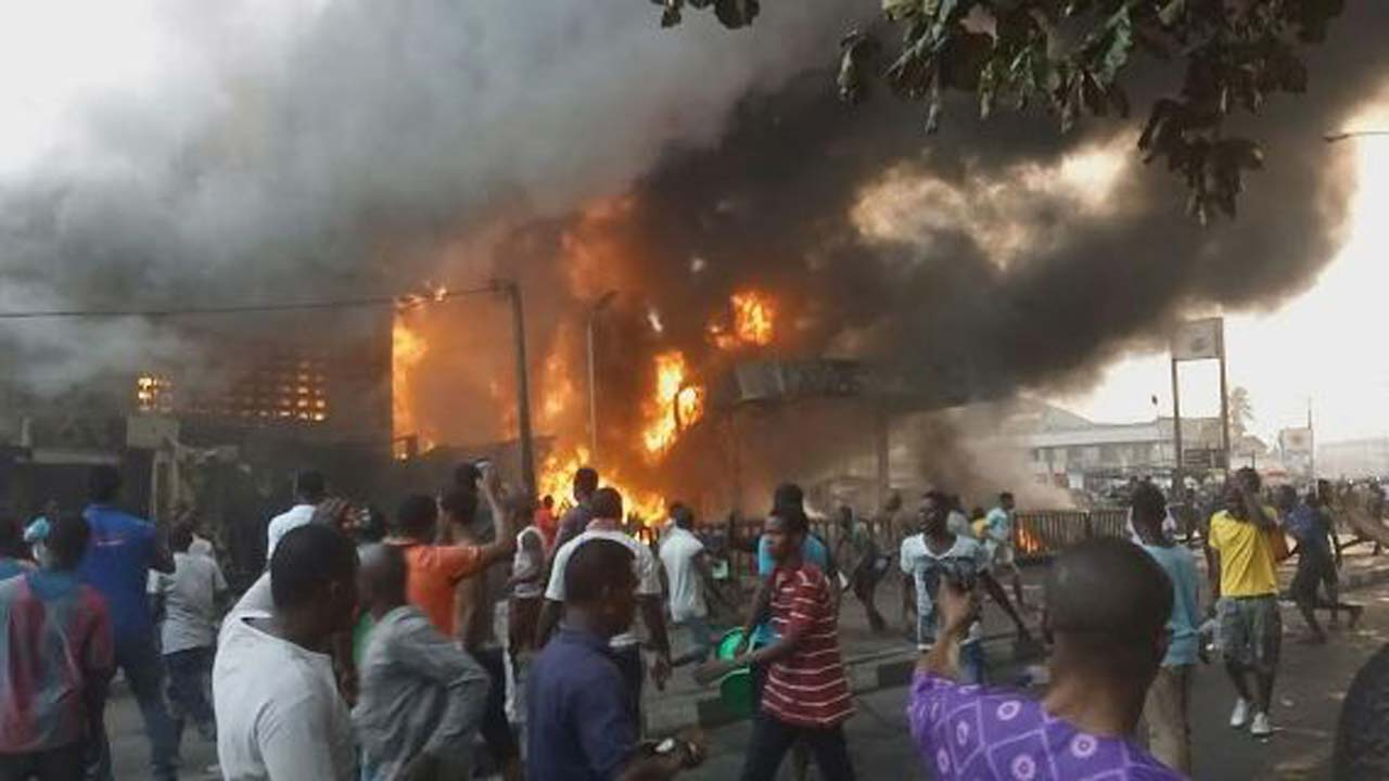 15 feared dead in Calabar tank farm explosion