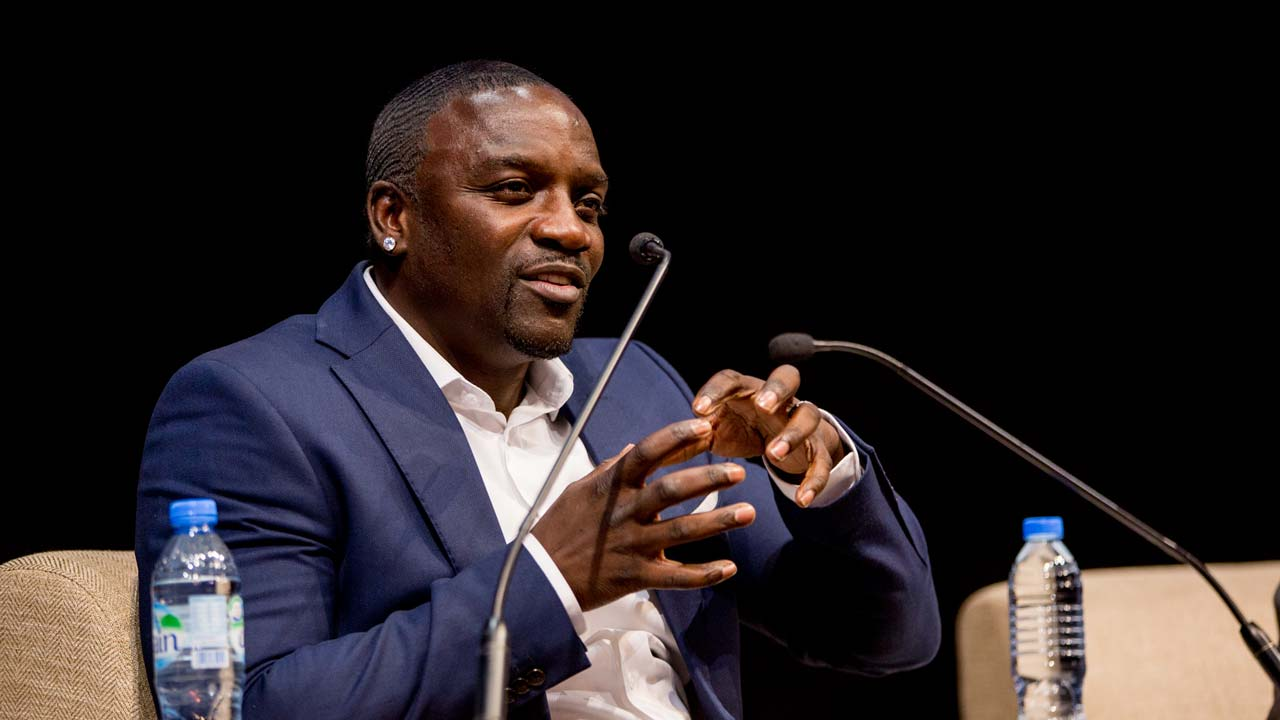 Rapper Akon to buy 50% of African music download service