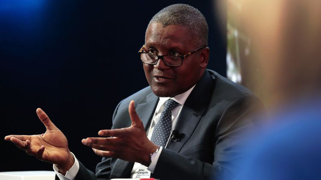 Dangote invests $4.6b in farming