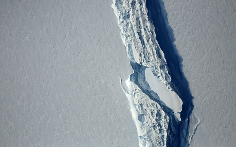 Iceberg six times the size of Lagos breaks off Antarctica