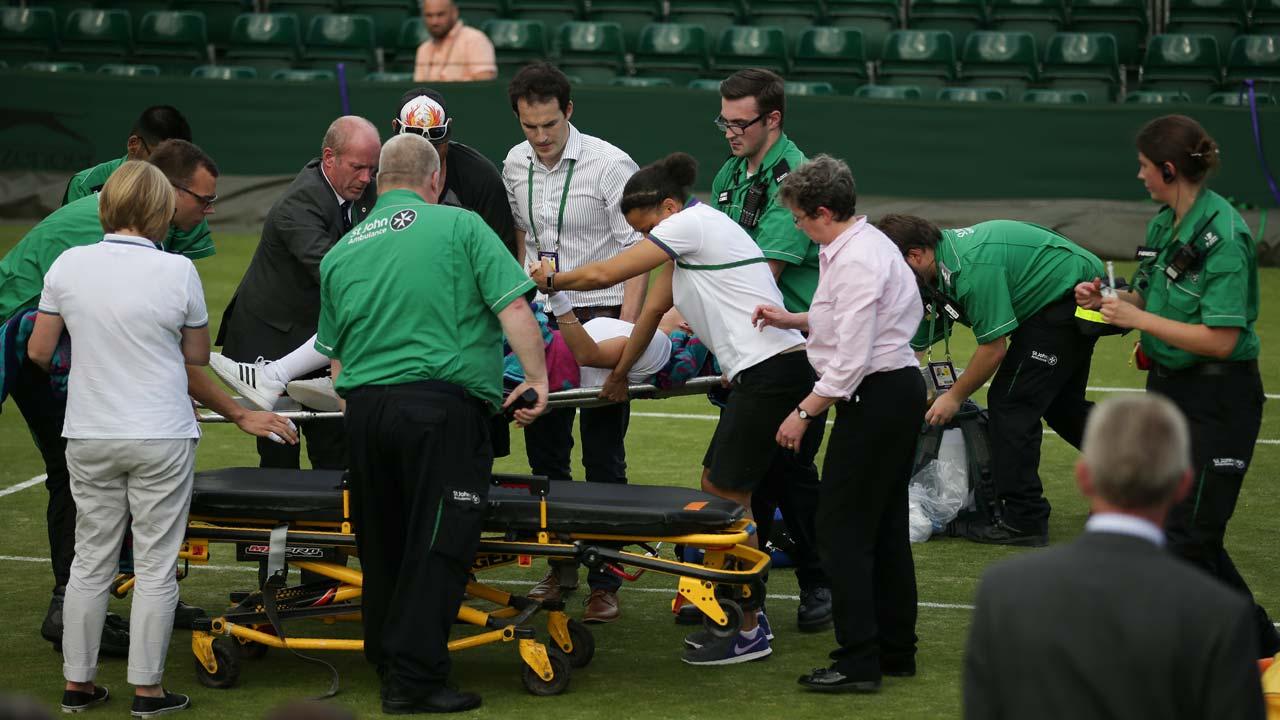 Bethanie Mattek-Sands speaks for first time following Wimbledon horror injury