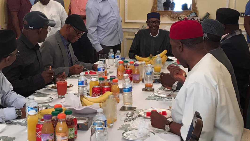 Buhari, APC leaders meet in London